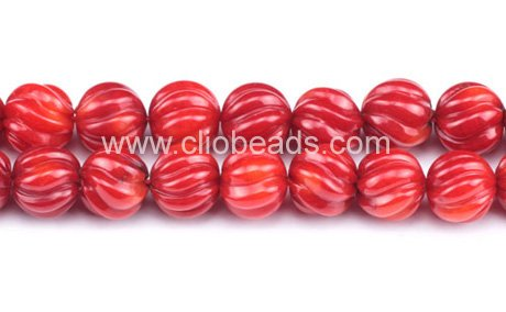 Carved Red Coral