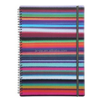 Custom promotional diary spiral hardcover notebook