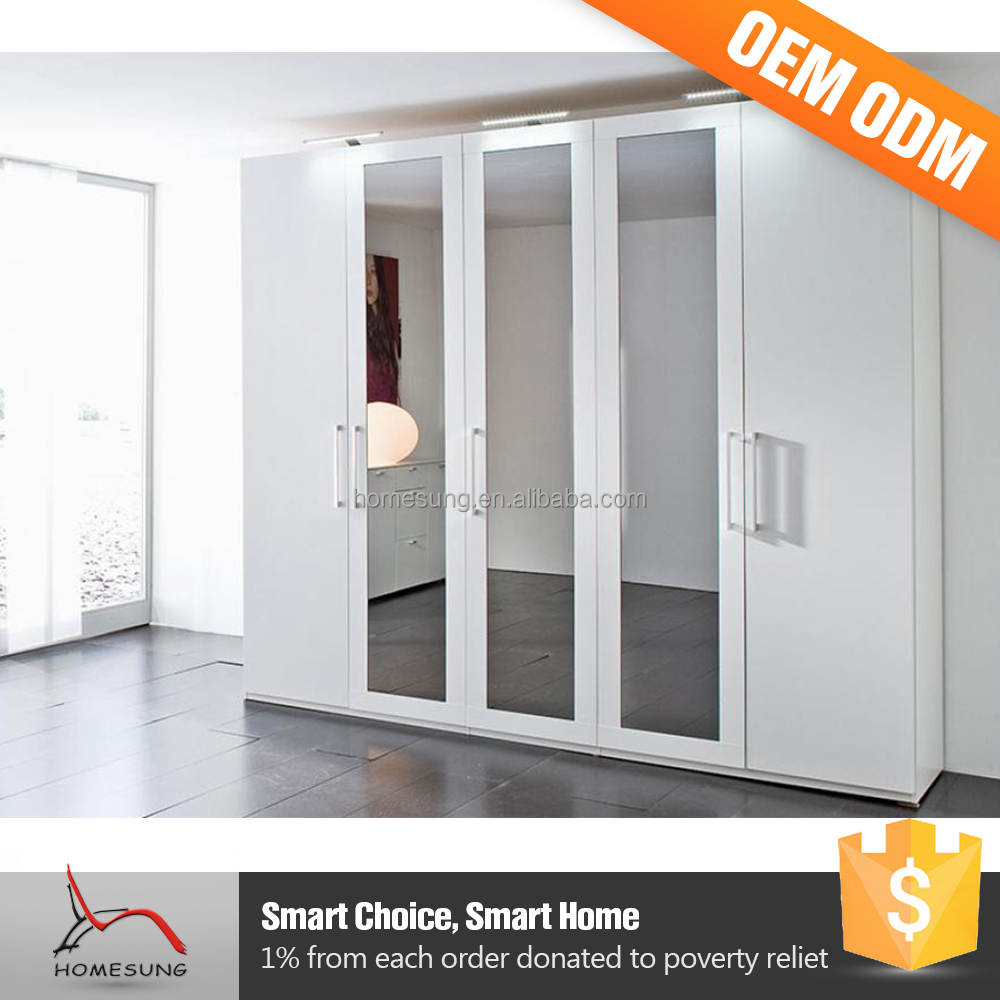 Wardrobes Bedroom 2 Door Removable Waterproof Wardrobe