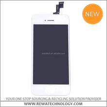 OEM Original White/Black Touch Digitizer LCD Screen Assembly for iPhone 5S Replacement