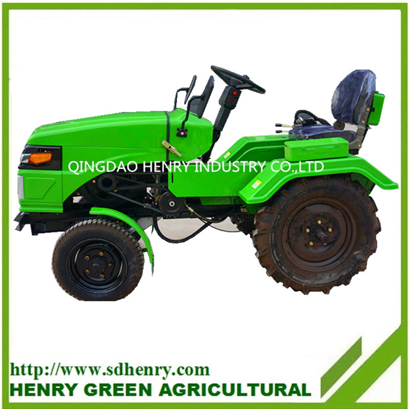 China Supply Tractor agricultural equipments mini garden tractor
