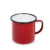 2018 Year New Products Personalised Enamel Camping Mug with Black Rim