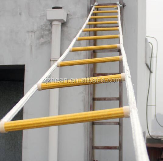 Emergency Folding ladder Nylon Fire Escape rope Ladder