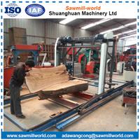 Wood Working Sawmill Petrol Chain Saw Wood Cutting Machine Timber Harvester Band Sawmill