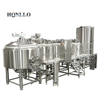 500L micro commercial complete beer brewing equipment system for restaurant