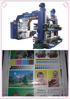 High Speed 4 Colors Plastic Film Flexo Printing Machinery(CH884 series)
