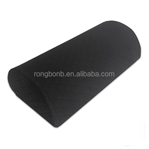 Wholesale Memory Foam Foot Pillow,Memory Foam Knee Cushion,Velboa Fabric Leg Rest Cushion
