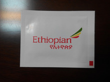 Ethiopian airlines wet wipes by Shentai factory