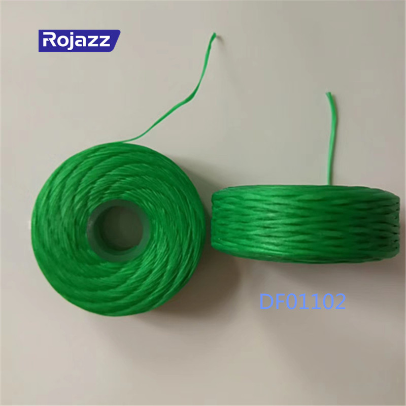 OEM ODM wholesale bulk green color PP floss 50m adult dental floss