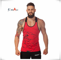 Fitness 2016 cotton gym tank top men Sleeveless tops for boys bodybuilding clothing Sport undershirt wholesale vest
