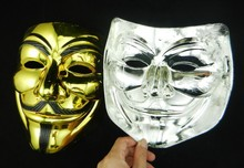 WH-061 Yiwu Caddy Hot sale plastic V for Vendetta PVC party masks for Halloween
