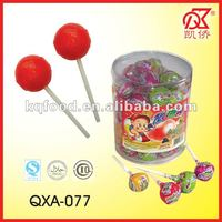 21g Halal Fruit Pop Bubble Gum Centre Lollies