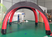 High Quality Low Price Four Feet Advertising Air Inflatable Tent