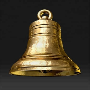 Wholesale large metal brass church bell