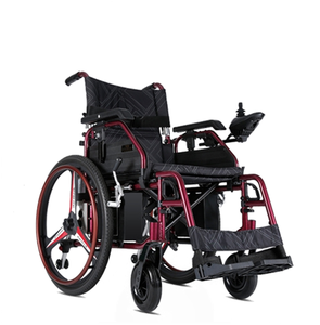 Aluminum handicapped high quality medline hospital big wheel invacare electrically propelled wheelchair with tires solid rubber