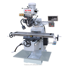 XG5513 hot sale high precision Swivel head small Vertical Universal Turret milling machine for sale