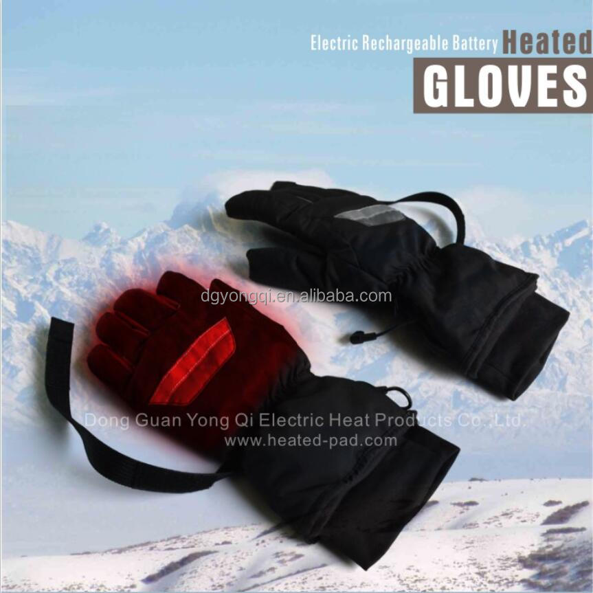 Rechargeable Lithium Battery Heating Heating Gloves Fingers and Back Hand Heating for Outdoor Sports Skiing Hunting