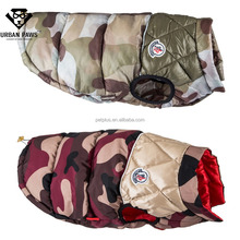 Hot sale winter greyhound dog coat Camouflage dog clothes for large dogs