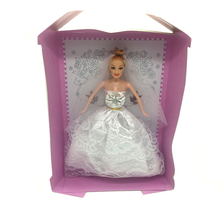 11 Inches Plastic Wedding Bobby Doll With Beautiful Toys