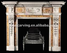 marble fireplace mental