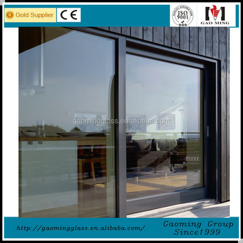 Aluminium Profile casement window with double glazing colored window glass