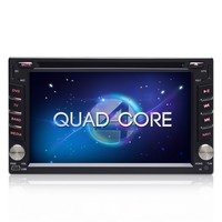 2 Din universal car DVD Player GPS navigation Quad-Core Android 4.4.4 Car radio stereo audio