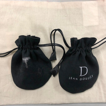 Wedding favors suede jewelry drawstring gift pouch bag