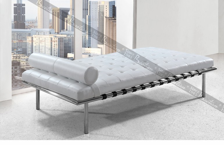 Chesterfield Design Antique Leather Chaise Lounge Sofa ...