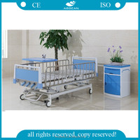 AG-CB013 Top quality bottom price hospital care manual crank patient bed