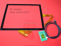 "17"" touch screen Win7/Win8/Win XP multi-touch panel"