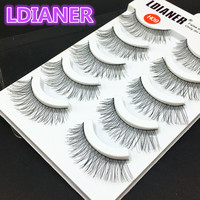 Soft Handmade Eyelashes 100% natural Eyelashes
