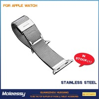 Exquisite design natural leather watch strap for apple