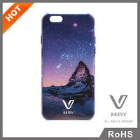 Jules.V brand Starry Series Hot Sale protective custom design printing plastic phone case cover for iphone 6
