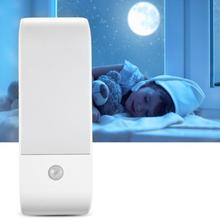Stick-on Closet Light USB Recharge Human Body Induction PIR Sensor 12 LED Night Light