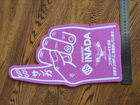 Eco-friendly Good Silk Print Customized Fan Cheering Foam Finger