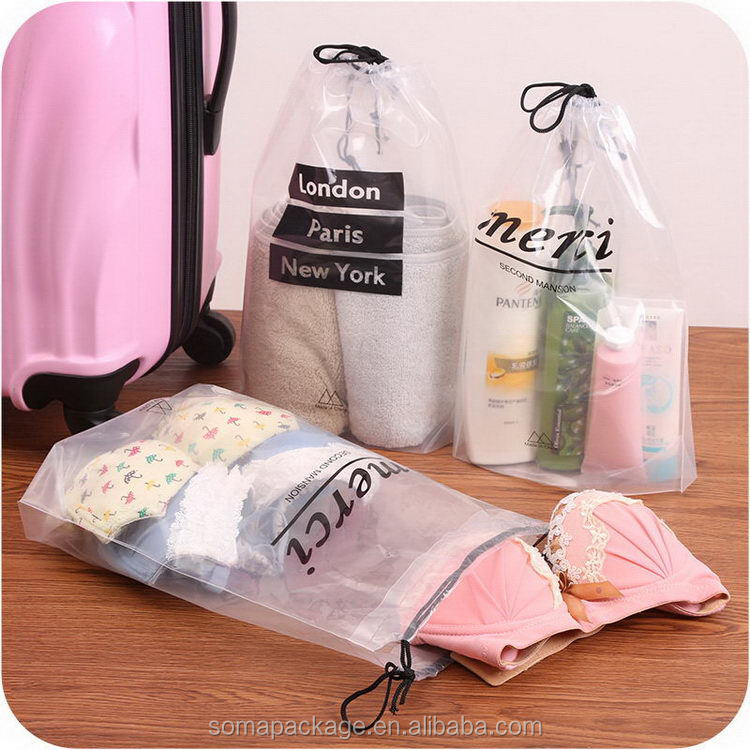 Top quality promotional make up pvc bags