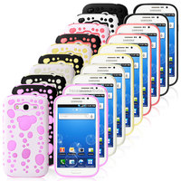 water drops bubble hard back cover case for samsung galaxy grand duos