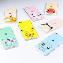 new products cool pokemon go cases for apple iphone tpu soft case cover for se 5s 6s 6plus for iphone 6 case