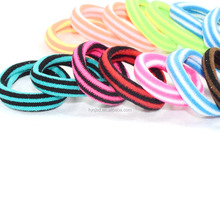 Factory elastic knitted hair band for elastic hair ties