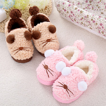 wholesale household essentials indoor outdoor flip flops cozy soft plush children slipper