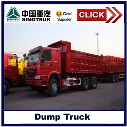 Howo truck specification, sinotruk dump truck with best price for sale
