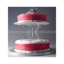 Acrylic Cake Display Stands Lucite Wedding cake separator acrylic display stands for cake