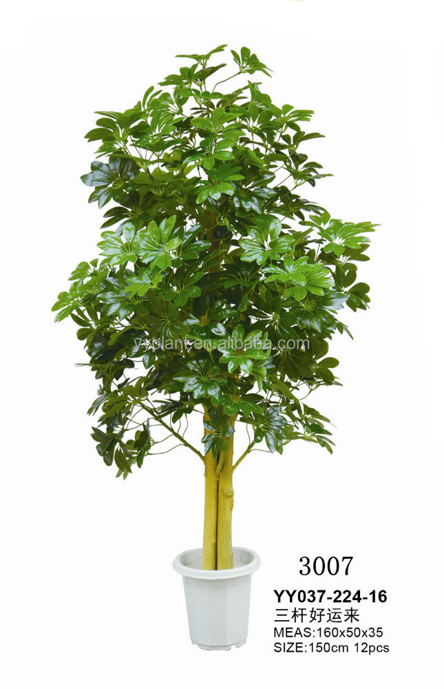 Artificial decorative money tree make artificial trees
