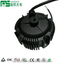1018 best selling round dimmable ip67 led driver 1000ma 60w constant voltage 54v led power supply