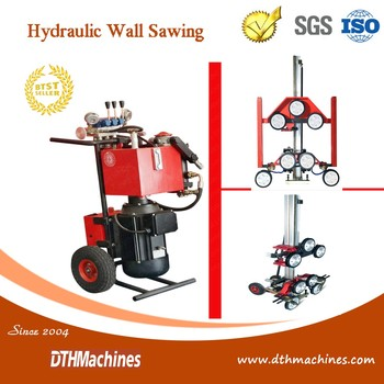 Hydraulic Diamond Wire Saw Machine For Quarry And Cutting Concrete ...