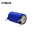 ER14250M battery with pins 3.6V 1200mAh