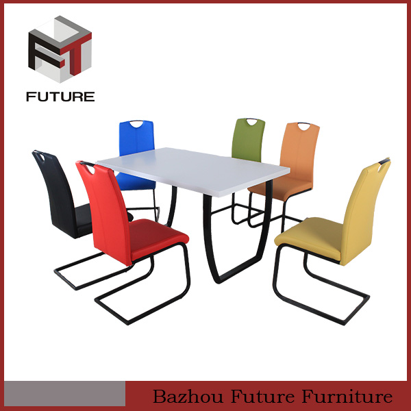 rectangle simple cheap modern indian wooden dining tables