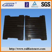 EVA pad, rubber and HDPE rail pad for railway fasteners