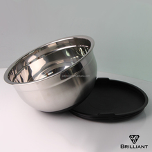 China supplier stainless steel 18/10 Mixing Bowl Set for foods