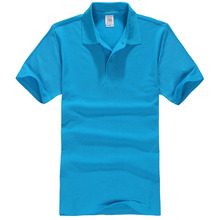 Wholesale custom 100% pure cotton casual Golf mens blank polo t shirt with design LOGO
